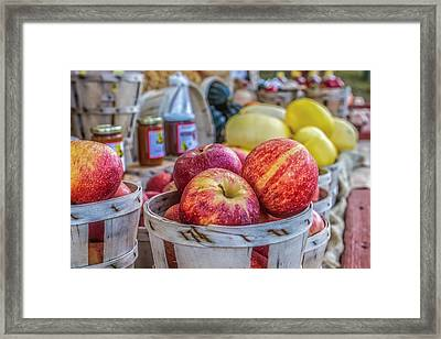 Farm Stand Framed Print by Lori Parsells