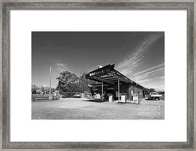 Farm Supplies, Everton Framed Print by Linda Lees