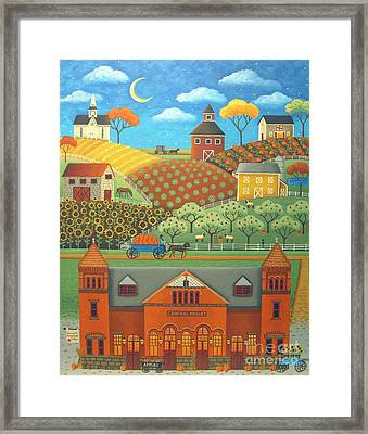 Farm To Market Framed Print