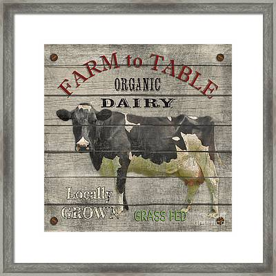 Farm To Table Dairy-jp2629 Framed Print by Jean Plout