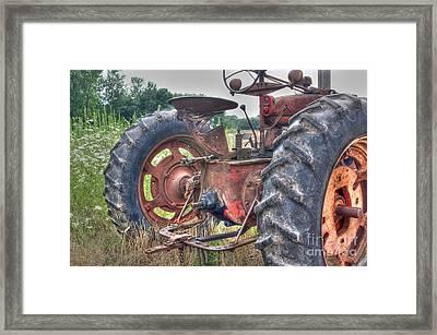 Farmall - 3 Framed Print