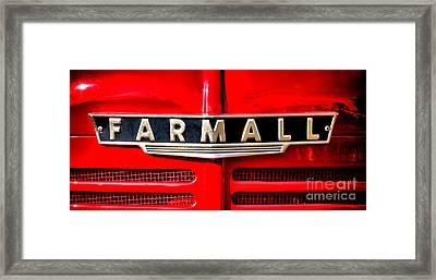Farmall Forever Framed Print