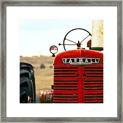 Farmall Framed Print by Humboldt Street