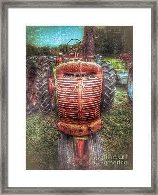 Farmall  Framed Print by Steven Digman
