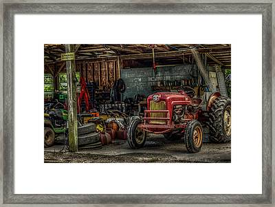 Farmall Tractor - Forever Florida Framed Print