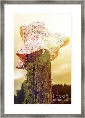 Farmer Girls Still Life Framed Print
