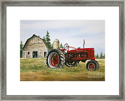 Farmers Heritage Framed Print by James Williamson