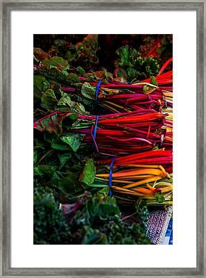 Farmers Market 1 Framed Print