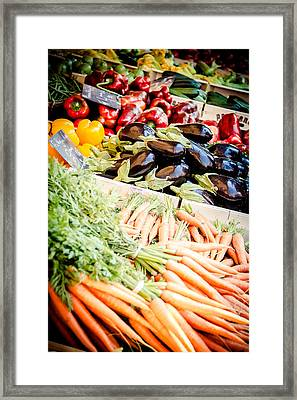 Framed Print featuring the photograph Farmer's Market by Jason Smith