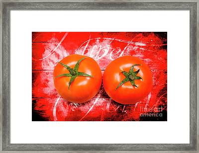 Farmers Market Tomatoes Framed Print by Jorgo Photography - Wall Art Gallery