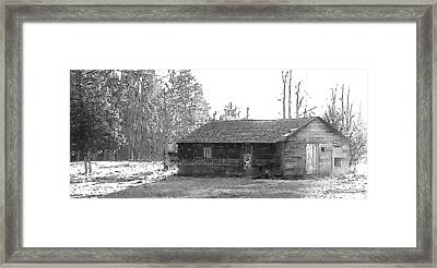 Farmhouse Framed Print by Kathleen Voort