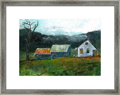 Farmhouse Framed Print