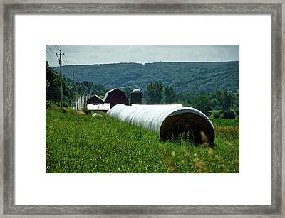 Farming Finger Lakes New York 15 Framed Print by Thomas Woolworth