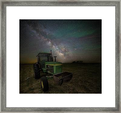 Farming The Rift 7 Framed Print by Aaron J Groen