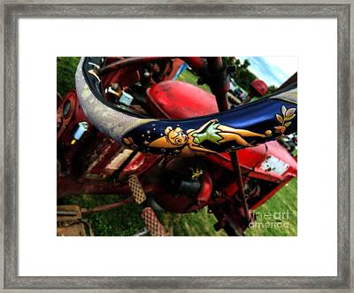 Farming With Tinker Bell  Framed Print