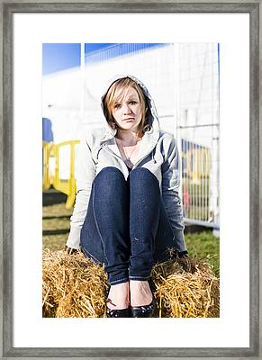 Farmland Female  Framed Print by Jorgo Photography - Wall Art Gallery