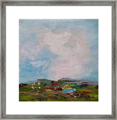 Farmland II Framed Print