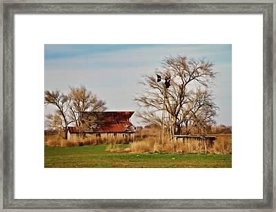 Farmstead 2 Framed Print by Lana Trussell