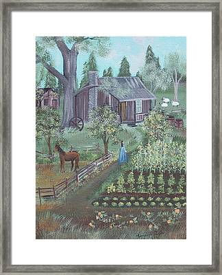 Farmstead Framed Print