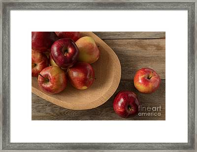 Farmtable Apples Framed Print
