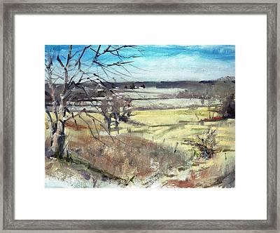 Farraway Vista Framed Print