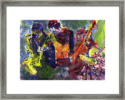 Faruq And Skeeter Framed Print by Don Thibodeaux