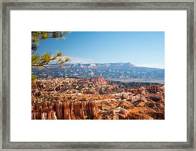 Farview Point, Bryce Canyon N.p. Framed Print