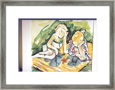 Fascination Framed Print