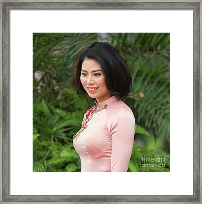 Fashion Beauty I Framed Print