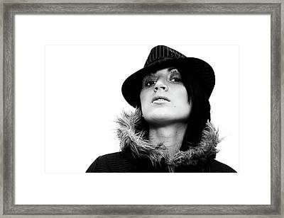 Fashion Diva Framed Print