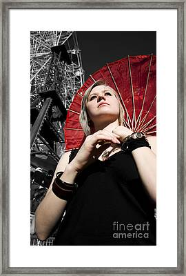 Fashion Fair Female Framed Print