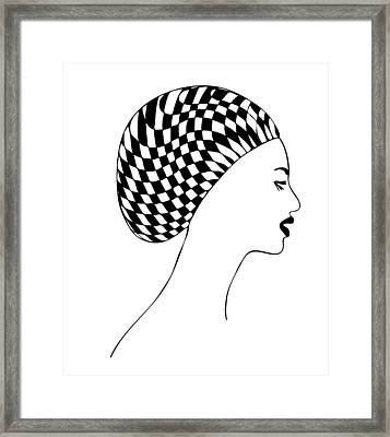 Fashion Illustration Framed Print by Frank Tschakert