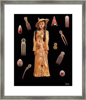 Fashion Jewellery  Framed Print