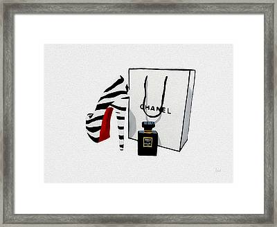 Fashion Noir Framed Print