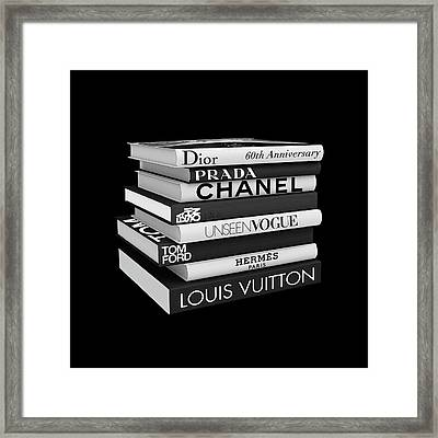 Fashion Or Fiction Framed Print
