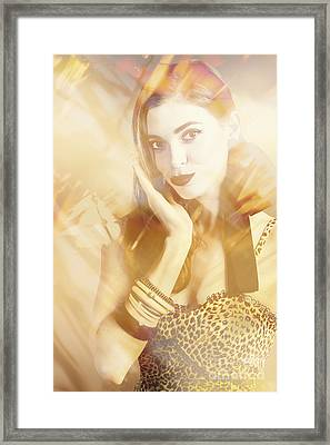 Fashion Reflections Framed Print by Jorgo Photography - Wall Art Gallery