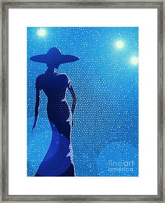 Fashion Show 2 Framed Print