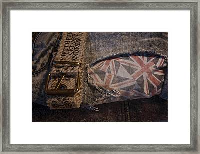 Fashion Statement Framed Print by Toni Hopper