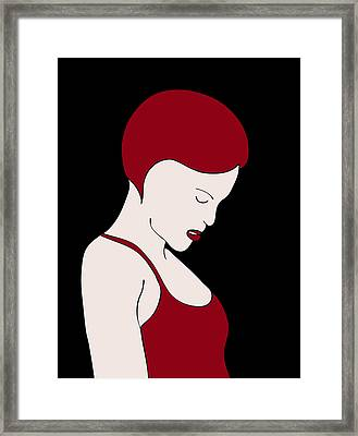 Fashion Wall Art Framed Print by Frank Tschakert