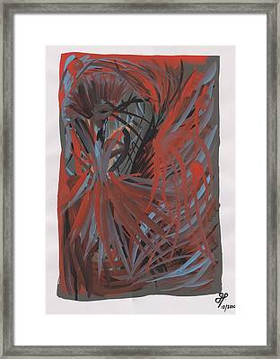 Fashionably Late Framed Print by Joubert Potgieter