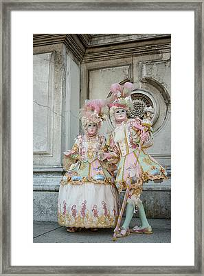 Fashionably Pink Framed Print by Cheryl Schneider