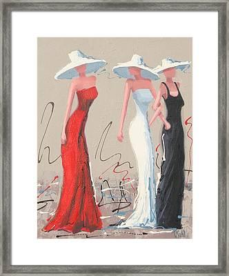 Fashionistas Framed Print by Thalia Kahl