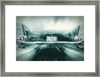 Fast 57' Framed Print by Marvin Spates