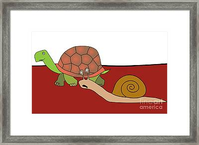 Fast And Furious Framed Print by Michal Boubin
