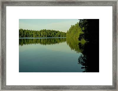 Fast Approaching Framed Print
