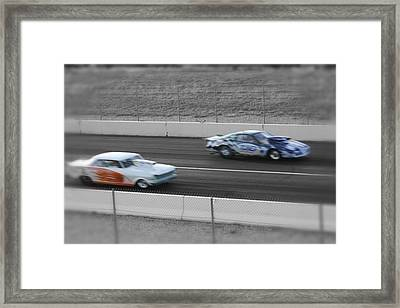 Fast Framed Print by Cassidy Haas