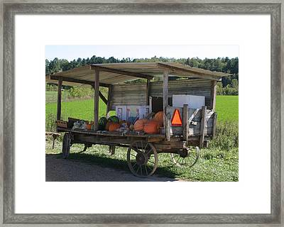 Fast Food Framed Print by Bjorn Sjogren