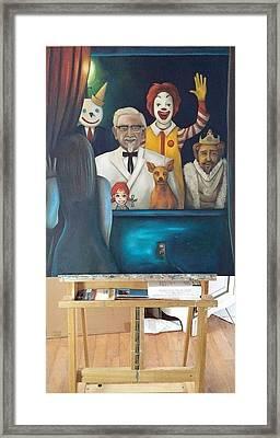 Fast Food Nightmare 4 Framed Print