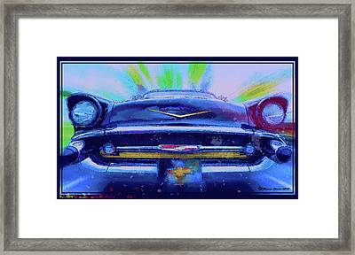 Fast Lane Framed Print by Marvin Spates