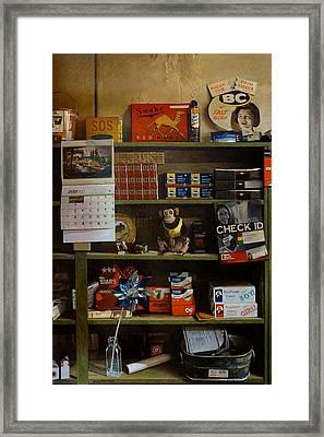 Fast Releif Framed Print by Doug Strickland